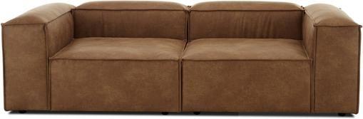 Modulares Leder-Sofa Lennon (3-Sitzer)