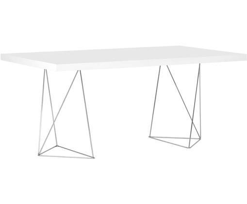 Stół do jadalni Max, Biały, matowy