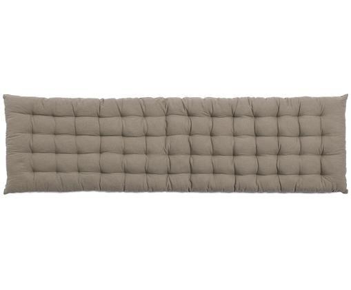 Cuscino sedia lungo Gavema, Grigio, L 40 x L 120 cm