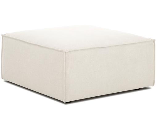 Sofa-Hocker Lennon, Bezug: Polyester 35.000 Scheuert, Gestell: Massives Kiefernholz, Spe, Füße: Kunststoff, Webstoff Beige, 88 x 43 cm
