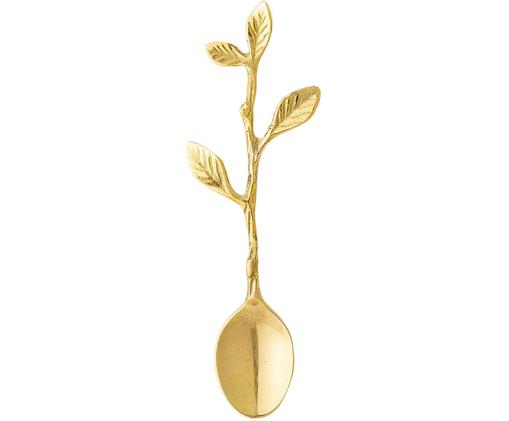 Zuckerlöffel Roots, Edelstahl, beschichtet, Messingfarben, L 13 cm