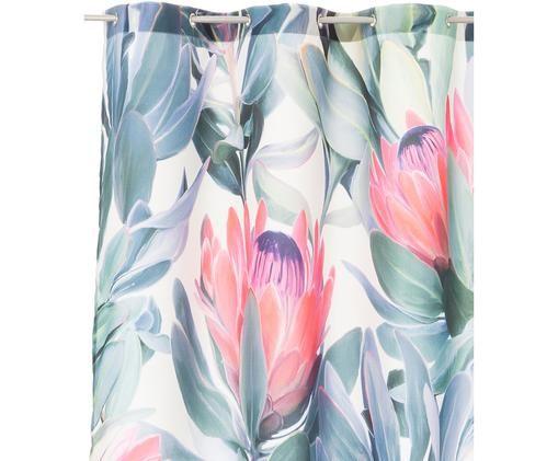 Zasłona prysznicowa Protea, Wielobarwny, S 150 x D 200 cm