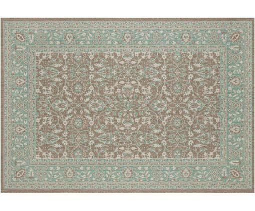 In- & Outdoor Teppich Konya, Polypropylen, Grün, Taupe, B 160 x L 230 cm (Größe M)