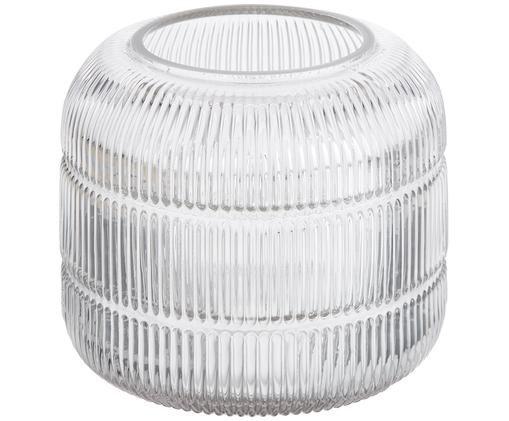 Vaso Lone, Vetro, Trasparente, Ø 17 x Alt. 13 cm