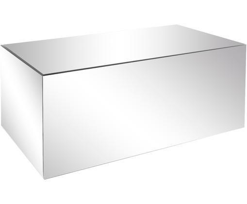 Mesa de centro espejos Luxury, Estructura: tablero de fibras de dens, Superficie: espejo de cristal, Espejo, An 90 x F 50 cm