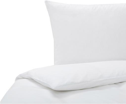 Baumwoll-Bettwäsche Weekend in Weiß, Baumwolle, Weiß, 135 x 200 cm