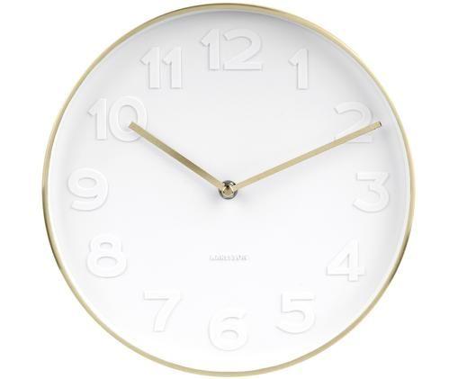 Orologio da parete Mr. White, Dorato