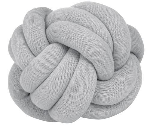 Cuscino Twist, Grigio chiaro, Ø 30 cm