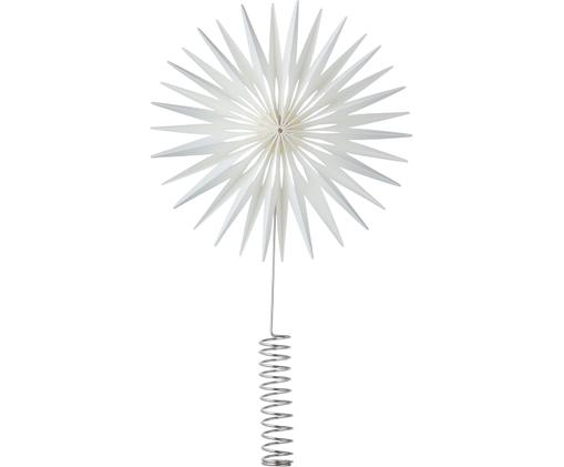 Étoile de Noël Polaris, Blanc, couleur chrome