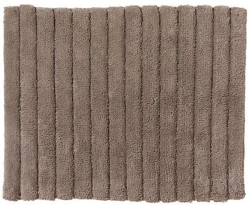 Dywanik łazienkowy Board, Bawełna, wysokagramatura, 1900g/m², Szarobrązowy, S 50 x D 60 cm
