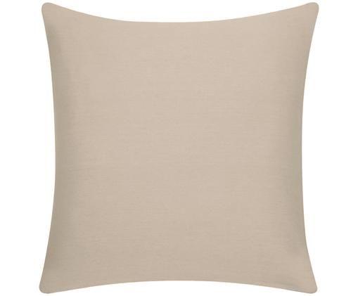 Funda de cojín Mads, 100%algodón, Beige, An 50 x L 50 cm