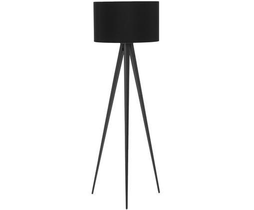 Lampa podłogowa Jake, Klosz: czarny Podstawa lampy: matowy czarny, ∅ 50 x W 154 cm
