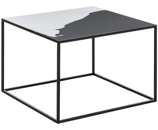Table basse Amalia, Gris, noir
