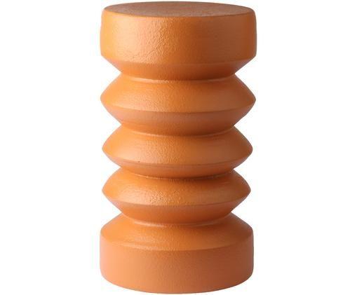 Kleine bijzettafel Stoneware in terracottarood, Keramiek, Terracottarood, Ø 23 x H 41 cm