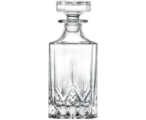 Decantador de cristal Opera, Cristal, Transparente, Al 19 cm
