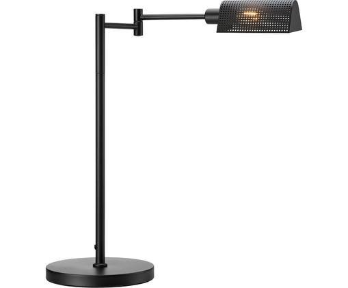 Lámpara de mesa Yale, Metal, Negro, An 56 x Al 56 cm