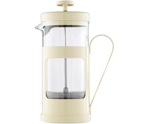 Zaparzacz do kawy Monaco, Transparentny, kremowy