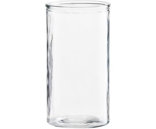Vaas Cylinder, Glas, Transparant, Ø 13 x H 24 cm