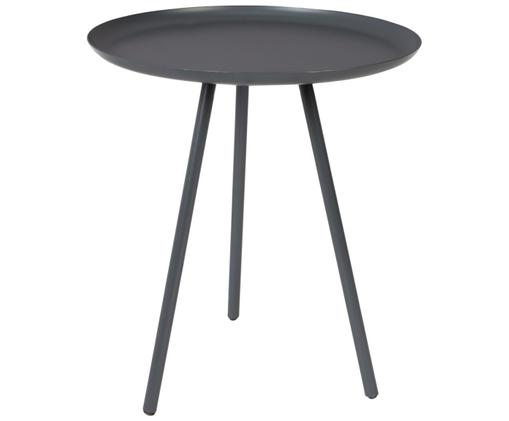 Table d'appoint en métal noir Frost, Anthracite