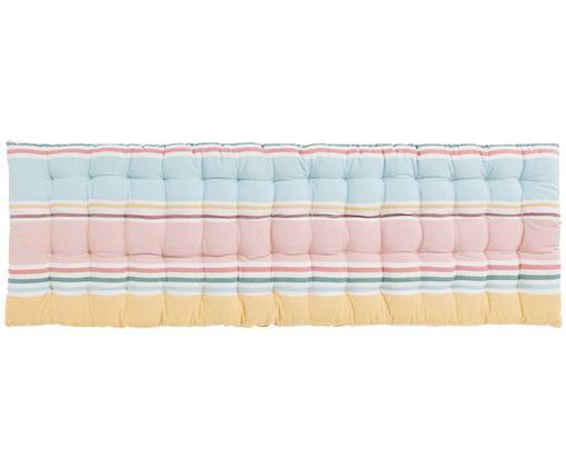 Bankauflage Rodas mit Streifen, Mehrfarbig, 40 x 120 cm