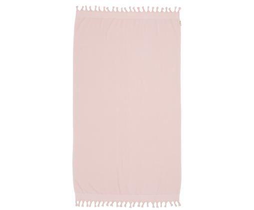 Fouta Soft Cotton, Blady różowy, biały, S 100 x D 180 cm