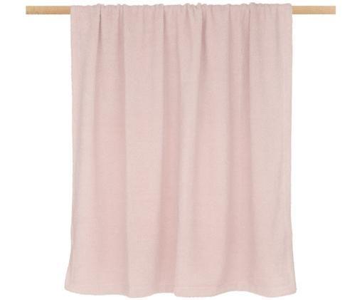 Pled Teddy Mille, Blady różowy, S 150 x D 200 cm