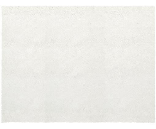 Flauschiger Hochflor-Teppich Leighton in Creme, Creme