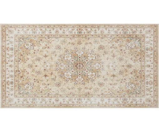 Vintage Teppich Nain, Gelb, Beigetöne, B 80 x L 150 cm (Größe XS)