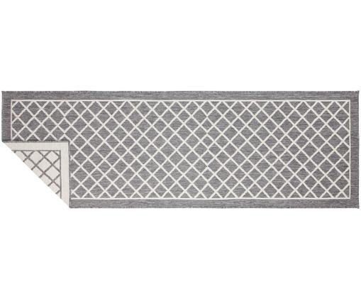 Dwustronny chodnik wewnętrzny/zewnętrzny Sydney, Szary, kremowy, S 80 x D 250 cm