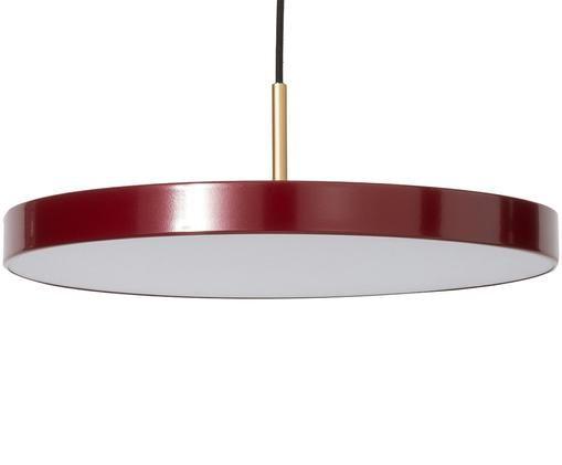 Lampada a sospensione a LED di design Asteria, Paralume: alluminio, verniciato, Rosso, Ø 43 x Alt. 15 cm