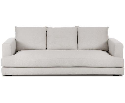 Sofa Tribeca (3-Sitzer), Bezug: Polyester 25.000 Scheuert, Sitzfläche: Schaumpolster, Fasermater, Gestell: Massives Kiefernholz, Füße: Massives Buchenholz, lack, Webstoff Beigegrau, B 225 x T 105 cm