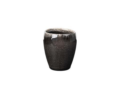 Tasses à espresso faites à la main Nordic Coal, 6pièces