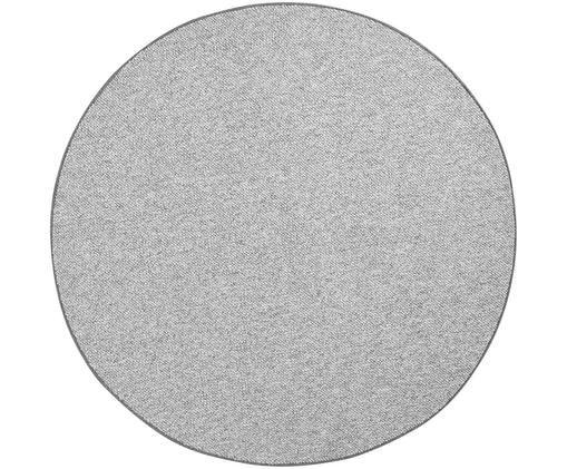 Kulatý koberec smalými textilními kuličkami Lyon, Strakatá šedá