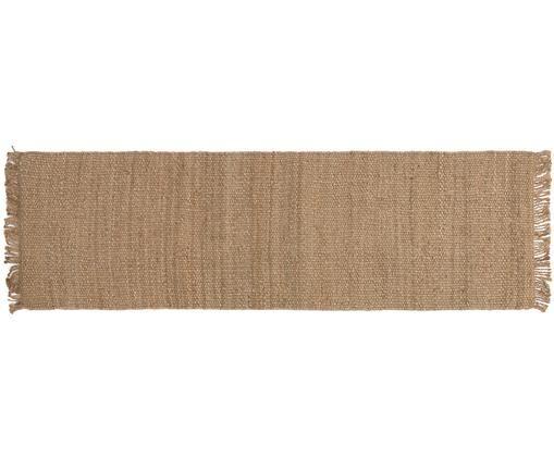 Ręcznie wykonany chodnik z juty Cadiz, Juta, Juta, S 70 x D 240 cm