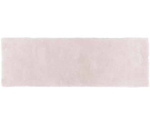 Alfombra de pelo largo Leighton, Parte superior: 100%poliéster (microfibr, Reverso: 100%poliéster, Rosa, An 80 x L 250 cm