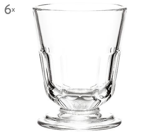 Verres à eau Perigord, 6pièces, Transparent