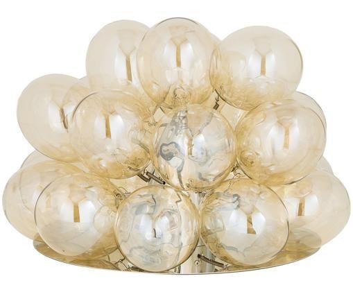 Lampa stołowa Gross, Chrom, Ø 38 x W 32 cm