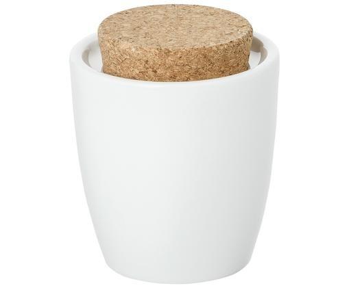 Suikerpot Artesano Original, Porselein, kurk, Wit, 300 ml