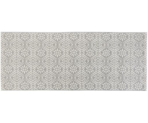 Läufer Creation, Grau, Cremefarben, 80 x 200 cm