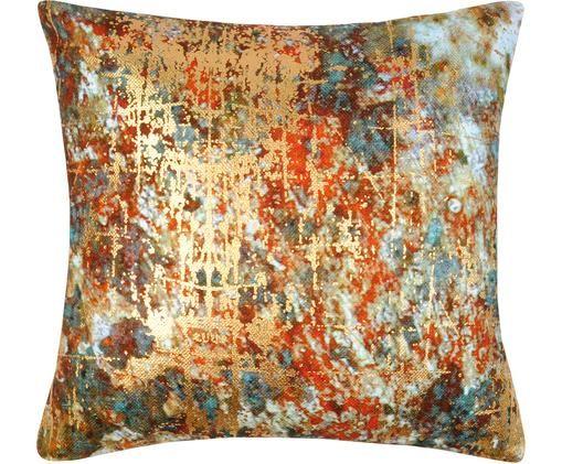 Federa arredo Fabienn, Cotone, Multicolore, dorato, Larg. 40 x Lung. 40 cm