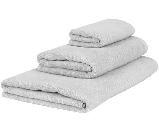 Set de toallas Comfort, 3pzas., Gris claro