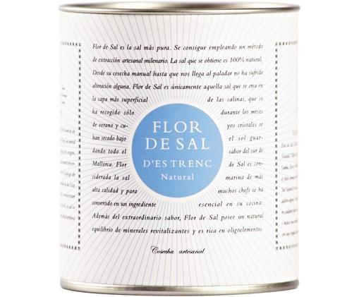 Salz Flor de Sal d´Es Trenc (Natural), Dose: Pappmembran, Metall, Creme, Goldfarben, Blau, 180 g