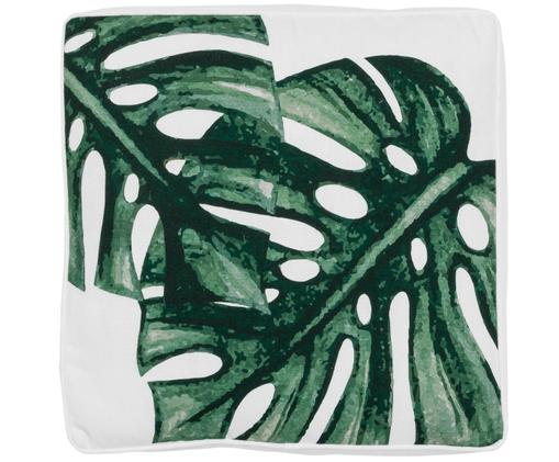 Cuscino sedia Tropics, Verde, bianco