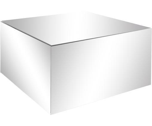 Mesa de centro espejos Luxury, Estructura: tablero de fibras de dens, Superficie: espejo de cristal, Espejo, An 70 x F 70 cm