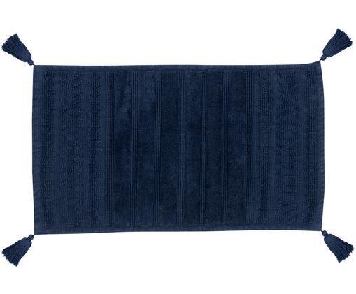 Tappetino da bagno Bernadotte, Blu scuro, 50 x 80 cm
