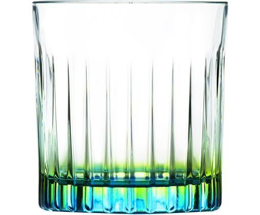Verres à cocktail bicoloresen cristal Luxion®Gipsy, 6pièces