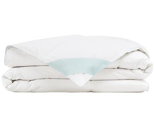Daunen-Bettdecke Comfort, leicht, Weiß