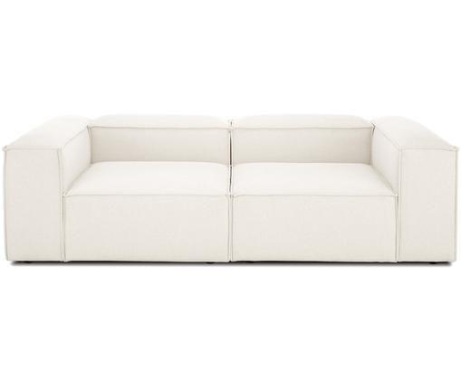 Modulares Sofa Lennon (3-Sitzer), Bezug: Polyester 35.000 Scheuert, Gestell: Massives Kiefernholz, Spe, Füße: Kunststoff, Webstoff Beige, B 238 x T 119 cm