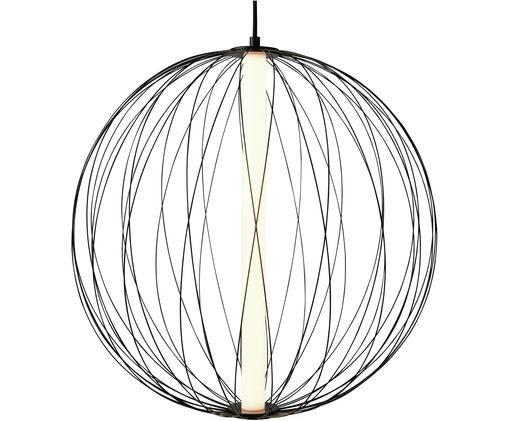 Lampada a sospensione a LED Atomic, Nero, Ø 50 x Alt. 50 cm