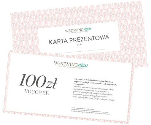 Karta prezentowa, Karta prezentowa z cienkiego papieru, w grubej kopercie, Biały, 100